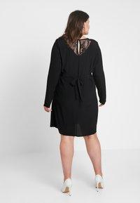 Zizzi - XGRENADINE DRESS - Robe d'été - black - 2
