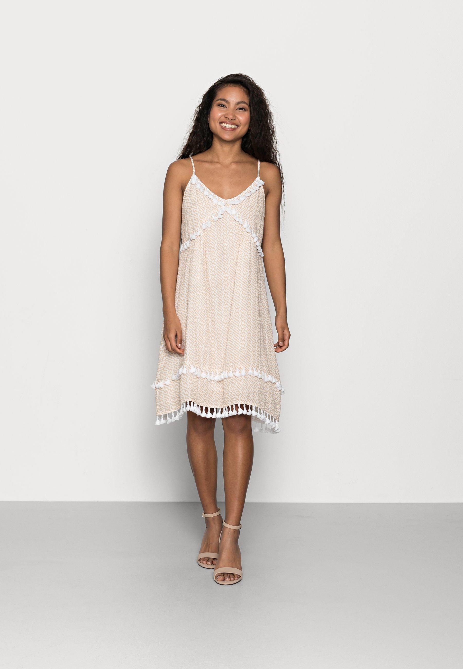 Women YASFRANCA STRAP DRESS - Day dress