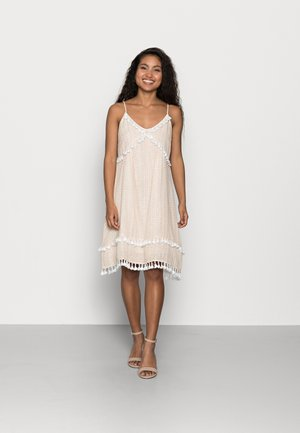 YASFRANCA STRAP DRESS - Day dress - toasted almond