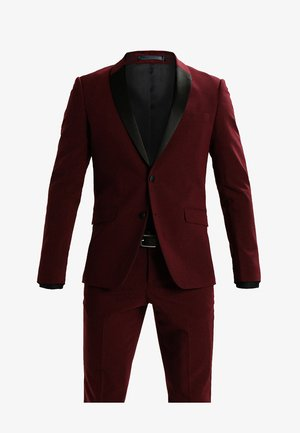 TUX SLIM FIT - Garnitur - bordeaux