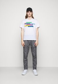 Missoni - SHORT SLEEVE  - T-shirt imprimé - white - 1
