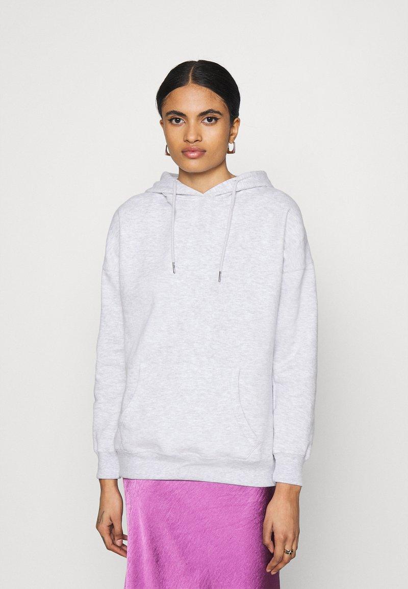 New Look - HOODY - Jersey con capucha - light grey