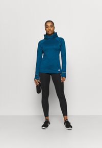 New Balance - HEAT GRID HOODIE - Hoodie - blue - 1
