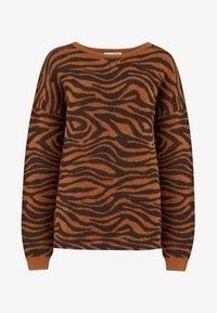 Sugarhill Brighton - LIVVY BIG CAT TIGERS - Jumper - black - 4