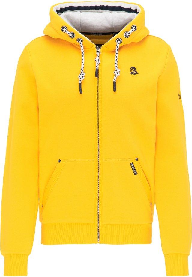 veste en sweat zippée - senf