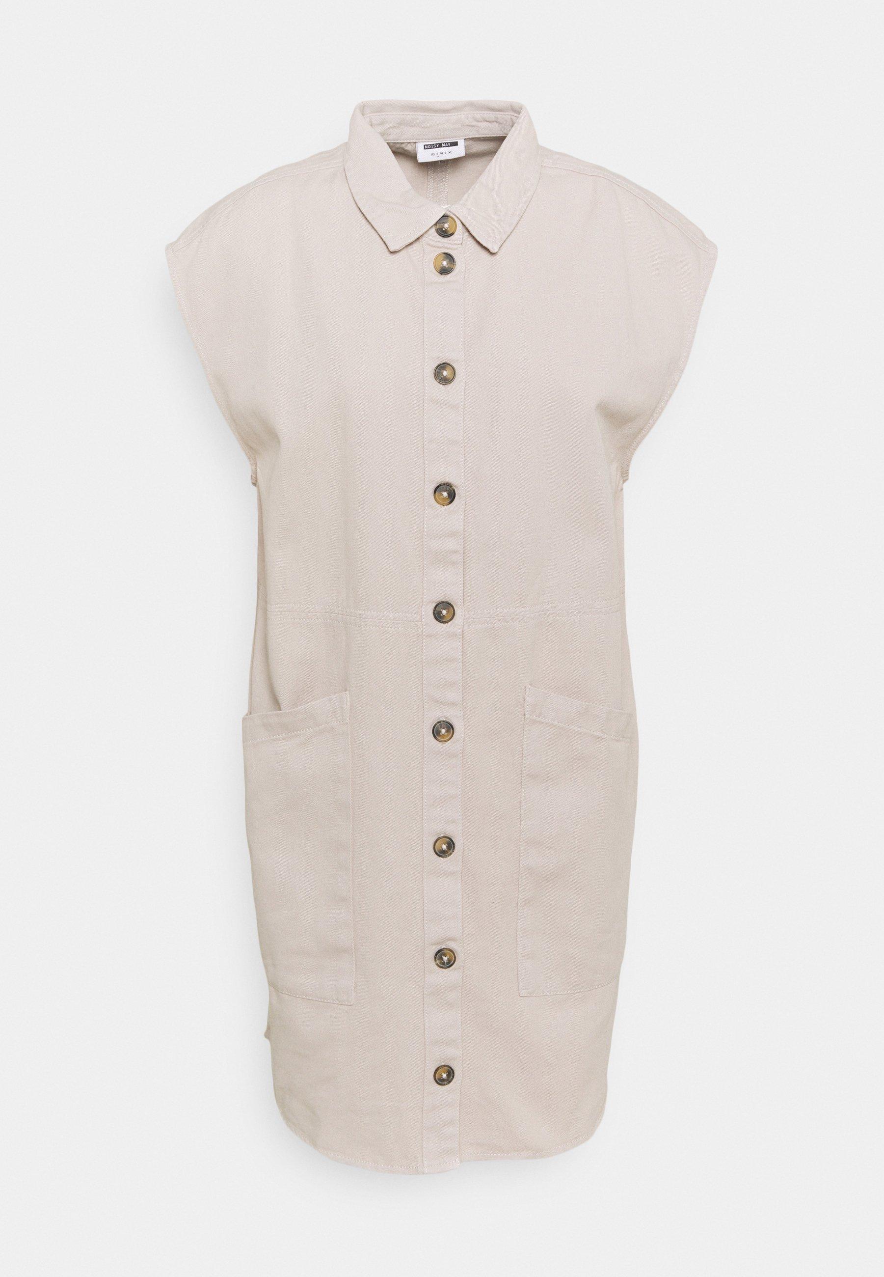 Donna NMALMA CAPSLEEVE DRESS - Abito a camicia