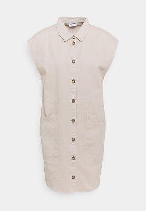 NMALMA CAPSLEEVE DRESS - Blousejurk - chateau gray