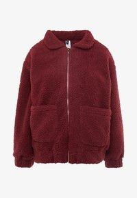 Onzie - TEDDY JACKET - Outdoor jacket - burgundy - 3