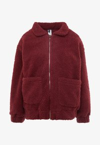 TEDDY JACKET - Outdoor jacket - burgundy