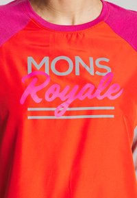 Mons Royale - TARN FREERIDE WIND - Funktionsshirt - punk baby - 4