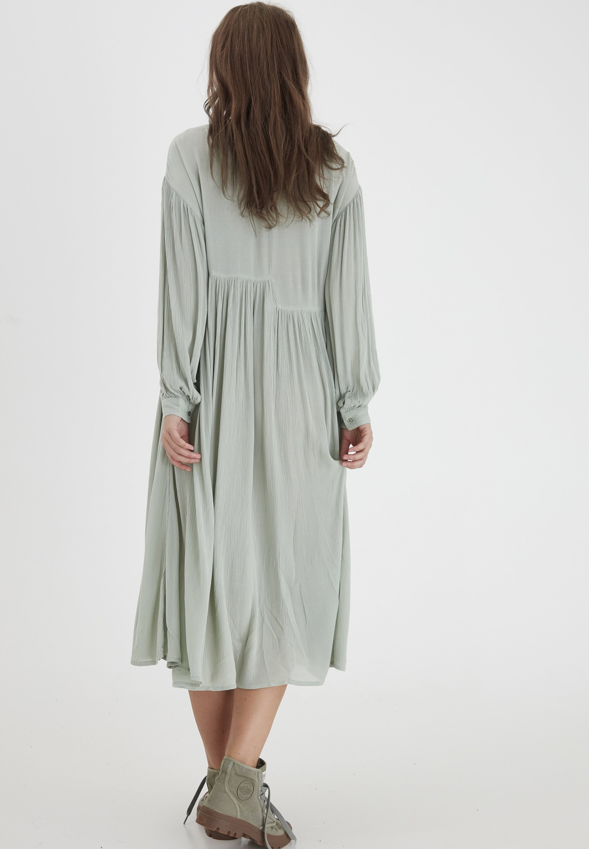Dranella DRJESLIE 2 DRESS - VISCOSE CREPE - Robe d'été - desert sage