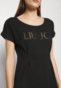 Liu Jo Jeans - ABITO - Jersey dress - nero - 5