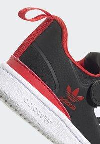adidas Originals - FORUM 360 I ORIGINALS CONCEPT SNEAKERS SHOES - Sneaker low - core black/ftwr white/vivid red - 8