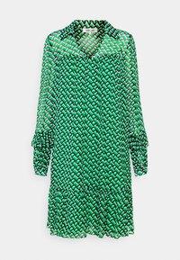 Diane von Furstenberg - HEIDI DRESS - Vapaa-ajan mekko - medium green - 4