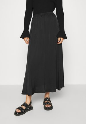 MEA SKIRT - Maxi skirt - black