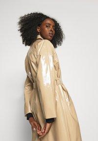 Bruuns Bazaar - JOSETTE GABY COAT - Short coat - roasted grey khaki - 3