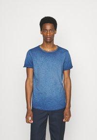 s.Oliver - KURZARM - Basic T-shirt - blue - 0