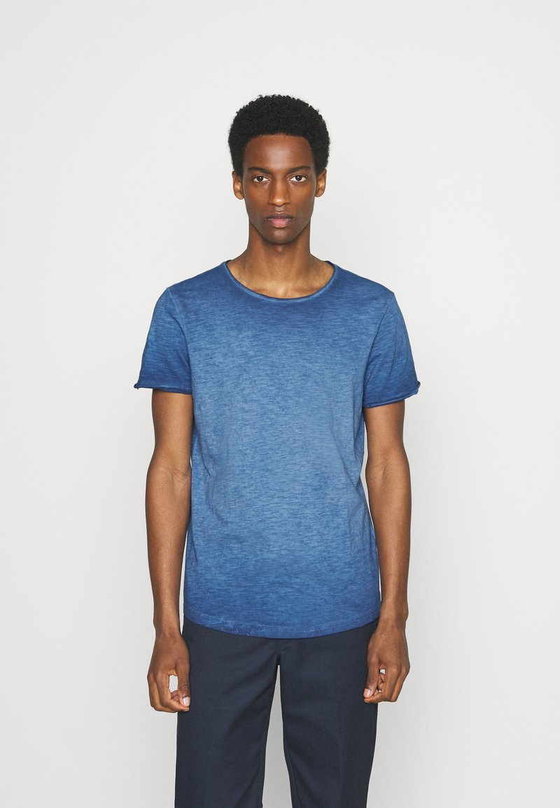 s.Oliver - KURZARM - Basic T-shirt - blue