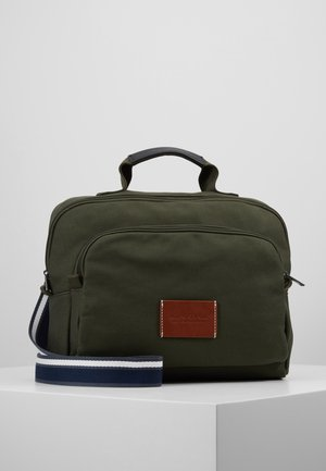 BUSINESS BAG - Aktovka - military green