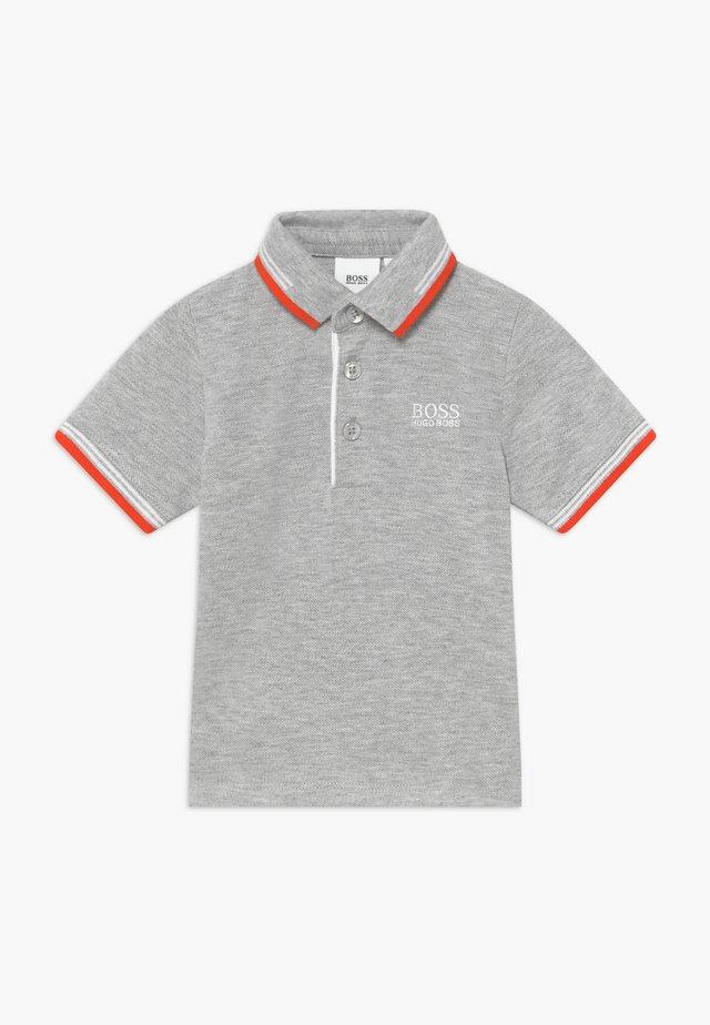 SHORT SLEEVE - Koszulka polo - gris chine