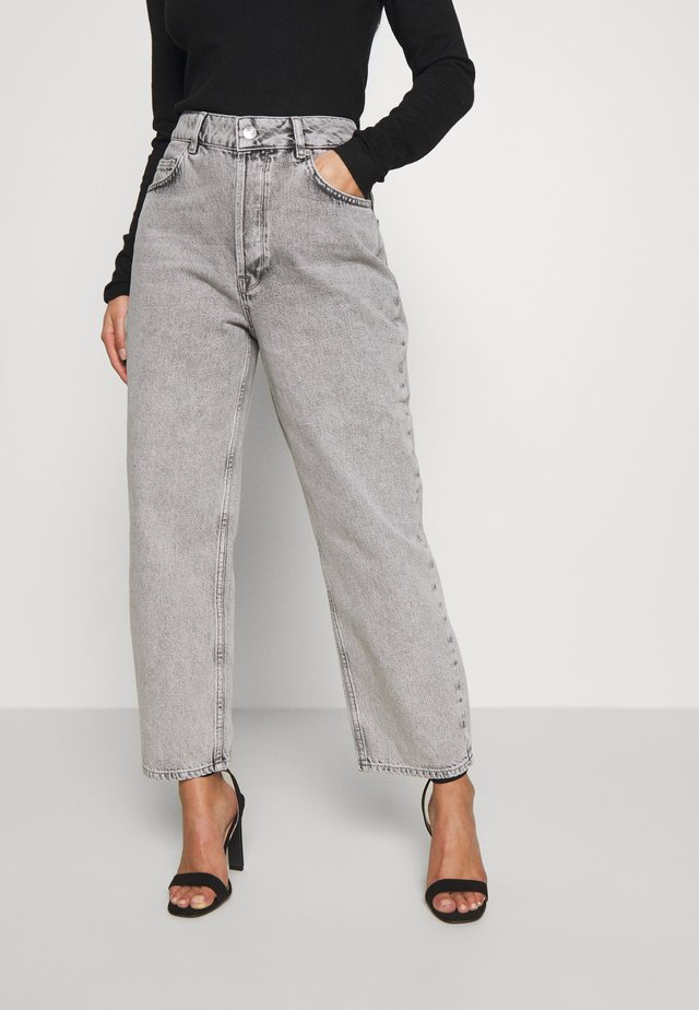 SLFKATE BLAST  - Jeans Straight Leg - grey denim