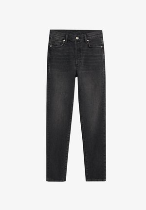 GISELE - Jeans Slim Fit - black denim