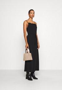 Calvin Klein - CAMI DRESS - Maxi šaty - black - 1