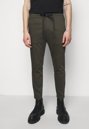 JEGER - Trousers - mottled olive