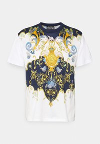Versace Jeans Couture - MARK  - T-shirt con stampa - white - 0