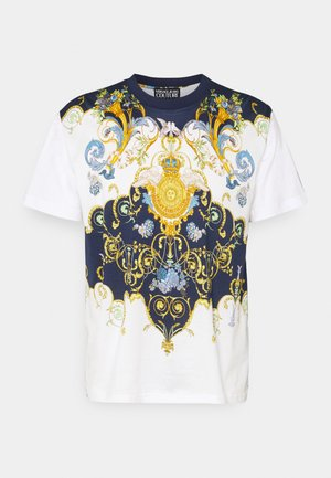 MARK  - T-shirt con stampa - white
