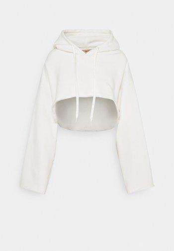 HOODIE - Sweatshirt - ecru