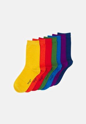 COLOURS OF THE RAINBOW SOCK BOX  7 PACK - Socks - multicoloured