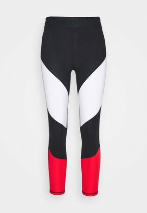 CADENCE BLOCKED - Tights - black/white/red