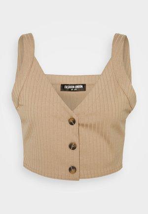 BRYONY VEST - Top - beige
