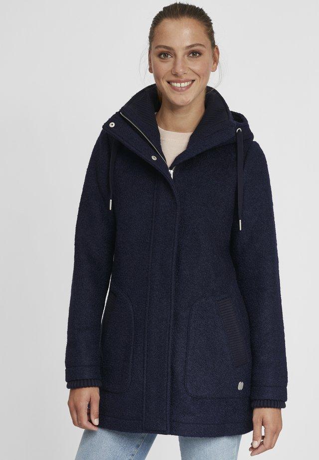 RIEKE - Cappotto corto - insignia blue melange