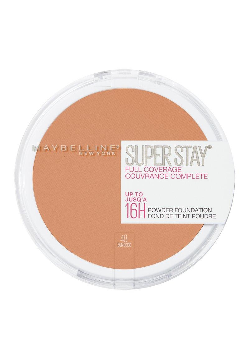 Maybelline New York - SUPERSTAY 24H PUDER - Puder - 48 sun beige