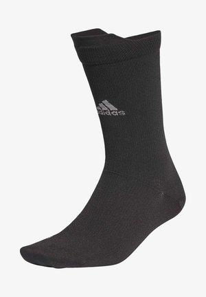 ALPHASKIN ULTRALIGHT PERFORMANCE REFLECTIVE CREW SOCK - Chaussettes de sport - black