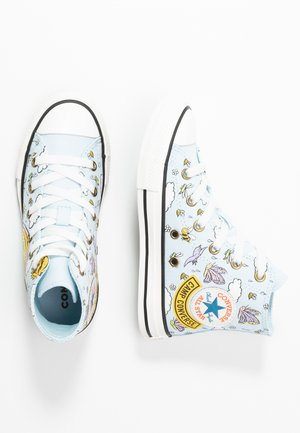 CHUCK TAYLOR ALL STAR - Zapatillas altas - agate blue/vintage white/black