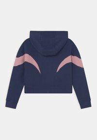 Nike Sportswear - AIR  - Sudadera con cremallera - midnight navy/pink glaze/white - 1
