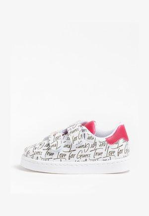 Sneakers laag - mehrfarbig, weiß