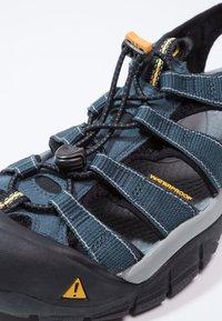 Keen - NEWPORT H2 - Walking sandals - navy/medium grey - 5