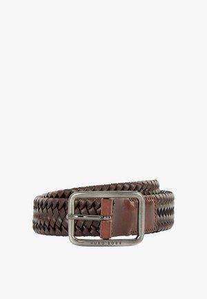 SIRIO WN SZ - Braided belt - dark brown