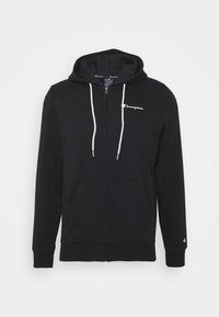 Champion - LEGACY HOODED FULL ZIP - veste en sweat zippée - black - 4