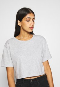 Even&Odd - T-shirt print - mottled light grey - 4