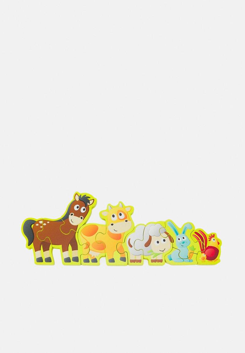 Hape - ZAHLEN & FARMTIERE UNISEX - Toy - multicolor