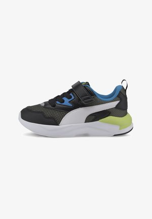 PUMA X-RAY LITE - Sneaker low - blk-white-shadow-blue-green