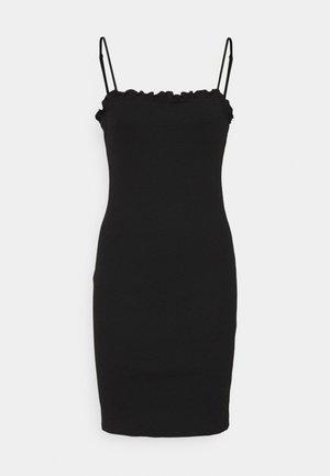 PCTEGAN STRAP DRESS TALL - Sukienka letnia - black