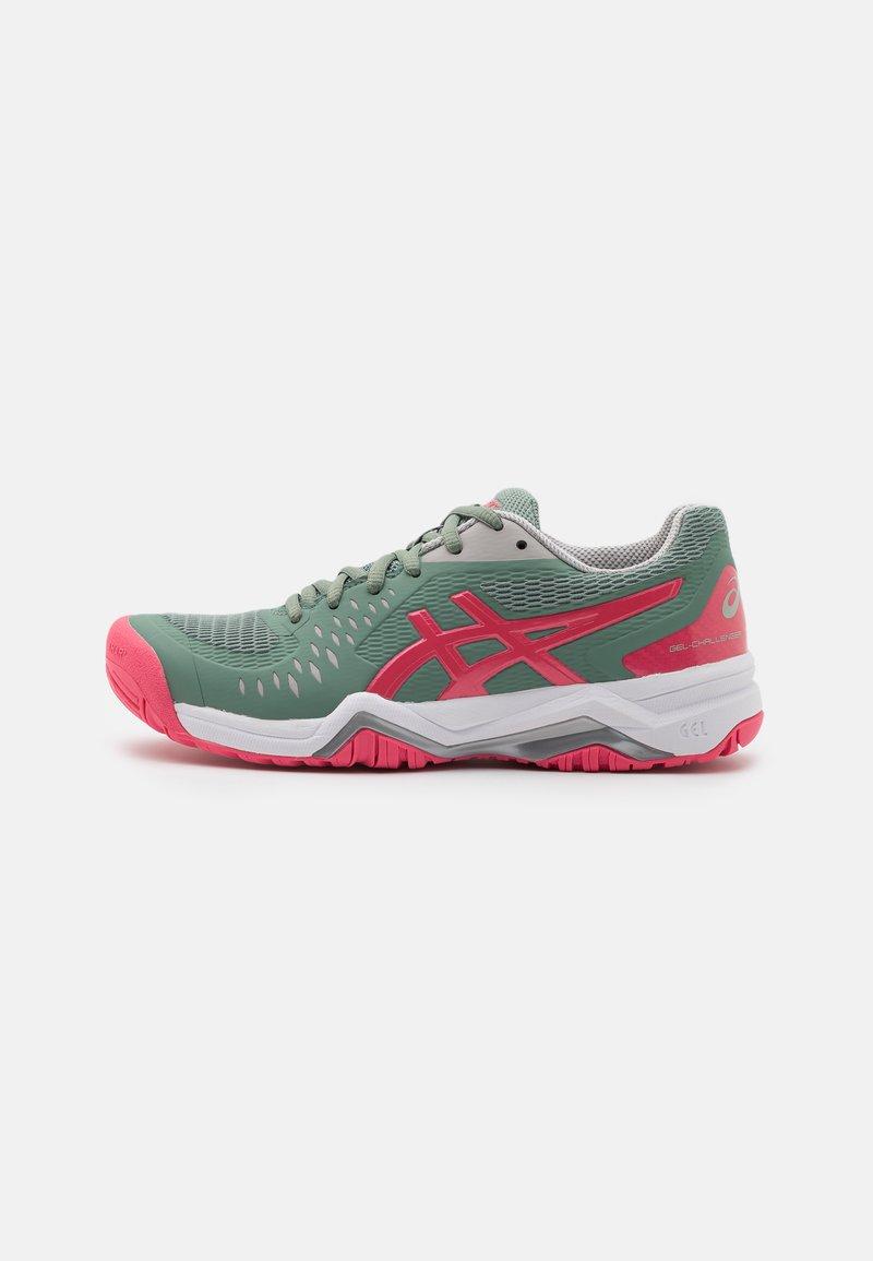 ASICS - GEL-CHALLENGER 12 - Chaussures de tennis toutes surfaces - slate grey/pink cameo