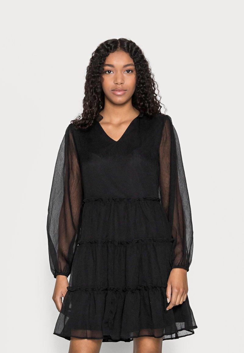 VILA PETITE - VIDITA DRESS - Cocktail dress / Party dress - black