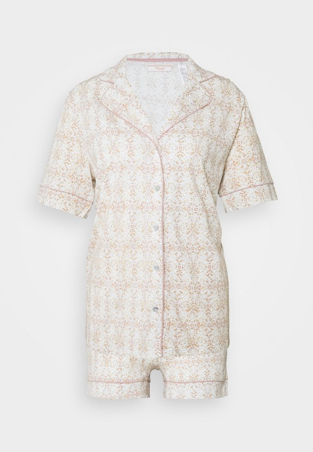BOYFRIEND SET - Piżama - turquoise